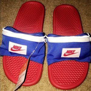 Nike Slides Benassi JDI Fanny Pack Size 11